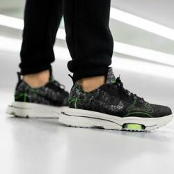 Nike Air Zoom-type Recycled Wool Black / Electric Green Mens Shoes