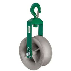 Greenlee 8012 12 O.d Steel Frame/aluminum Cable Puller Hook Sheave Assembly