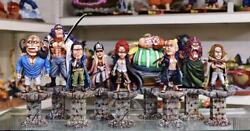 One-piece Pvc Figure Shanks Pirates All 9-person Set