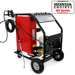 Powered By Honda Gx200 Portable Lpg Gas Instant Hot Cold Pressure Washer 3000psi
