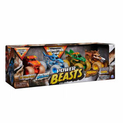 Monster Jam Power Beasts 164 Scale 4-pack