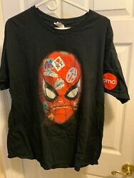 XL PREOWNED Spiderman Far From Home Promo Large Shirt Marvel AMC Theaters