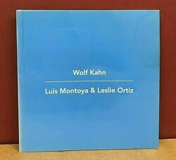 Wolf Kahn Paintings And Pastels With Luis Montoya And Leslie Ortiz Sculptures 2003