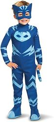 Catboy Deluxe Toddler W/lights Pj Masks Fancy Dress Up Halloween Child Costume