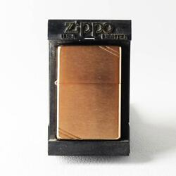 Zippo Oil Lighter 1937 Replica Vintage Rose Gold Discontinued Product 345 F/s