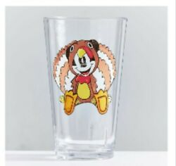 Disney Pottery Barns Mickey Mouse Thanksgiving Tumblers Thanksgiving