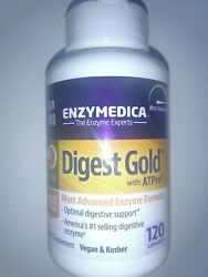 Enzymedica - Digest Gold With Atpro Enzymes 120 Caps 5/2023  New