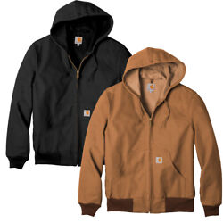 Thermal Lined Duck Jacket Coat W/ Hood. J131 S - 6xl New W/ Tags