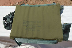 Usaf F-4 Phantom Ii Pilot's Harness Lumbar Pad And Personnel Lowering Device, Nos