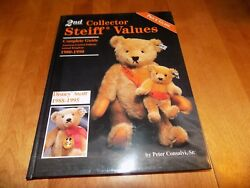 2nd Collector Steiff Values 1980-1990 Limited Editions Bear Price Guide Book New