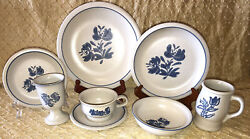 Pfaltzgraff Yorktowne 8 Piece Place Setting 6040710 Lot Of 8 64 Pieces Total