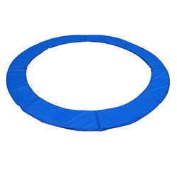 12and039 13and039 14and039 15and039 Round Trampoline Safety Pad Replacement Frame Spring Blue Cover