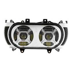 Led Dual Headlight Turn Signal Light Fit For Harley Road Glide 2015-2019 2018 17