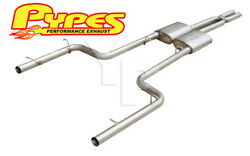 2011-2014 Dodge Charger R/t And Se V8 Cat-back 2.5 Exhaust W/ Street Pro Mufflers
