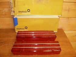 1965 Gm Nos Oldsmobile 98 Rear Tail Lens Pair 5956809/10 Convertible 394