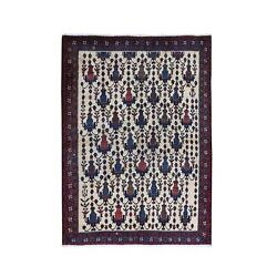 4'10x7' Old North West Farsian All Over Vase Design Wool Hand Made Rug R66315