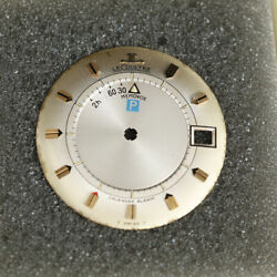 Vintage Lecoultre Memovox Parking Meter Dial Yellow Gold Markers 30.51mm I95268