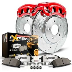 Kc3008-36 Powerstop Brake Disc And Caliper Kits 2-wheel Set Front For 3 Series