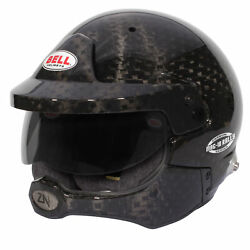 Bell Motorsport Competition Mag-10 Carbon Rally Helmet Fia / Snell Approved
