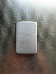 Zippo Oil Lighter 1953 - 1957 Years Made Engraved There Rare Vintage Plane F/s