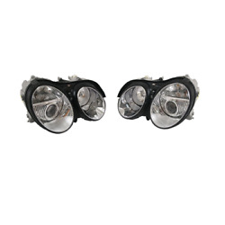 For Mercedes Benz Cl500 Cl55 Cl600 Cl65 Left And Right Headlights Marelli