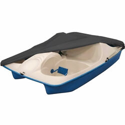 Grey Pedal Boat Storage Cover All-weather Protection Dustproof Uv Resistant