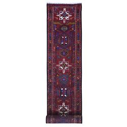 2and0394x14and0394 Vintage Farsian Karajeh With Animal Figurines Hand Knotted Rug R66333