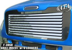 Freightliner 1 Pc. Hood Grill W/9 Louvers