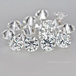 Colorless Natural Loose Diamond 2.7mm. E F Vs1-2 43pc. In 3.00ct. For Jewelry