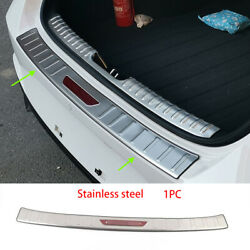 For Hyundai Elantra 2021 Steel Rear Outer Bumper Protector Scuff Plate Guard 1pc