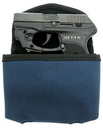 BULLDOG EXTREME Blue Concealed Pistol Belt Holster Pouch SMALL AUTOS Choose