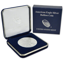 2021 American Silver Eagle in U.S. Mint Gift Box $47.45