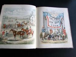 1880 The Field The Fox Hunt And The Farm By Laura Valentine 1st Ed Illustrated