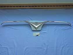 1955-1956 Ford Convertible Rear Seat Center Top Moulding