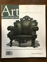 Art And Antiques Magazine February 2020 Italian Design Mexican Muralists Collector