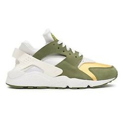 Stussy X Nike Air Huarache Dark Olive Size 8 Menand039s Ships Now Priority