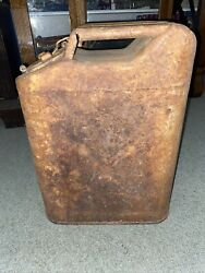 Vintage U.s. Military 5 Gallon Jerry Can Gas Can