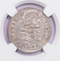 Ngc-ms62 1680kb Hungary 15k Silver Only One Finer