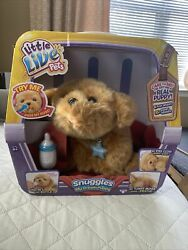 Live Little Pets Snuggles My Dream Puppy New In Box