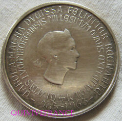 Med11882 - Luxembourg, 250 Francs Silver 1963, Millenial