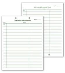 Supplemental And Treatment Notes 2 Hole Punch / Nebs Deluxe No. 20001v