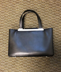 Pre Owned Michael Kors Leather Black Tote Purse $70.00