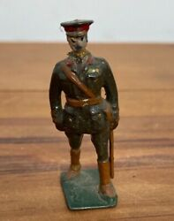 Rare Antique John Hill And Co Major General Wwi Officer Lead Soldier Britains