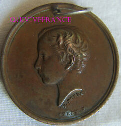 Med5709 - Medal Imperial - Leads Of Childhood In The Work 1862