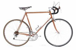 Used Vintage Guerciotti Lugged Steel Road Bike 60cm Campagnolo/shimano As Is