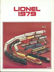 Lionel 1979 Train Sets And Roling Stock Guide Catalog. Contains 23 Pages.