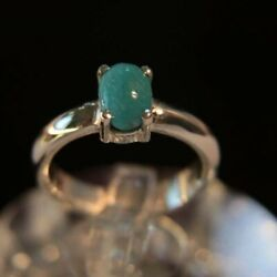 Natural Feroza Ring Feroza Band Old Turquoise Rings Womens Silver Jewellery Gift