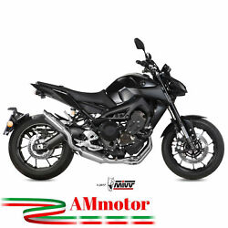 Full Exhaust System Yamaha Mt-09 2017 2018 Mivv Gp M2 Stainless Steel Motorcycle