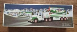 2002 Hess Toy Truck And Airplane - Mint In Box - Never Opened
