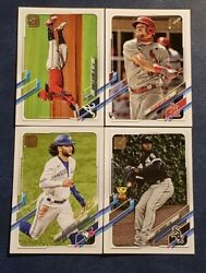 2021 Topps Series 1 Base 201-330 Veterans And Rookies You Pick Acuna Soto